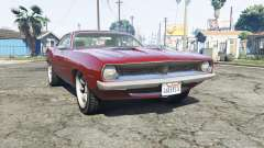 Plymouth Barracuda 1970 v2.0 [replace] para GTA 5