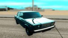 VAZ 2107 negro para GTA San Andreas