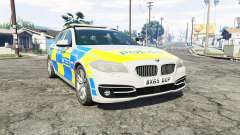 BMW 525d Touring Metropolitan Police [replace] para GTA 5