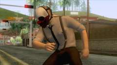 Payday 2 - Wolf Reservoir Dogs para GTA San Andreas