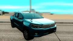 Toyota Hilux Sr5 2017 para GTA San Andreas