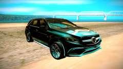 Mercedes-Benz ML63 AMG чёрный para GTA San Andreas