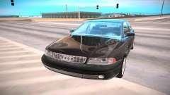 Audi A4 negro para GTA San Andreas