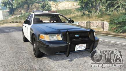 Ford Crown Victoria Police [replace] para GTA 5