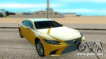 Lexus LS500 2018 para GTA San Andreas