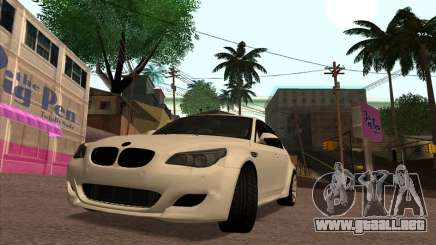 BMW M5 E60 Lumma Edition By Ulvi Agazade para GTA San Andreas