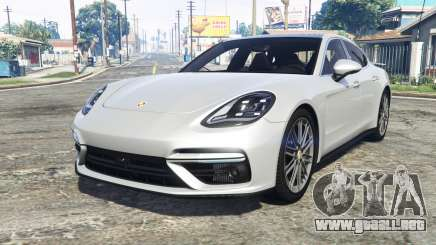 Porsche Panamera Turbo (971) 2017 [add-on] para GTA 5