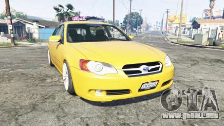 Subaru Legacy Touring Wagon (BP5) [replace] para GTA 5