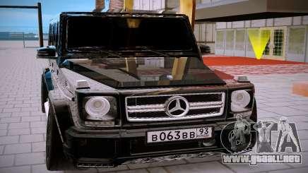 Mercedes Benz G63 Brabus para GTA San Andreas