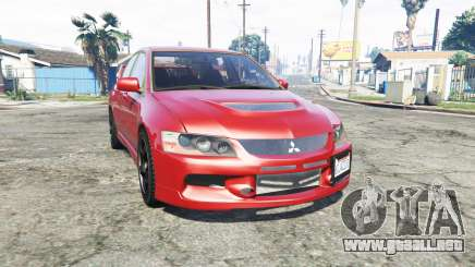 Mitsubishi Lancer Evolution IX [replace] para GTA 5