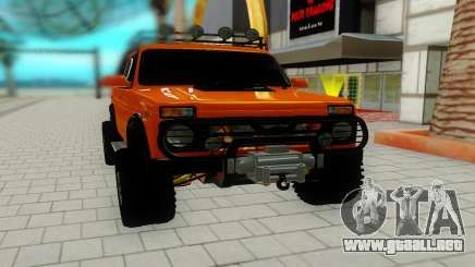 Lada Niva red para GTA San Andreas