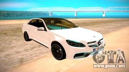 Mercedes-Benz E63 AMG белый para GTA San Andreas