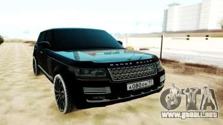 Land Rover Range Rover SVA para GTA San Andreas