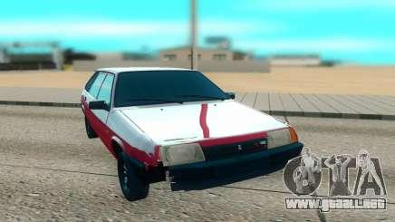 2109 rojo para GTA San Andreas