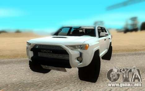 Toyota 4Runner para la visión correcta GTA San Andreas