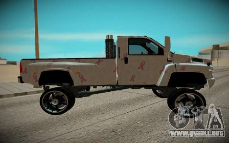 Chevrolet Kodiak C4500 para GTA San Andreas left