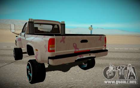 Chevrolet Kodiak C4500 para la visión correcta GTA San Andreas