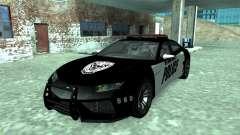 Lamborghini Estoque Concept NFS Police Custom para GTA San Andreas