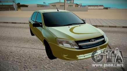 LADA Granta amarillo para GTA San Andreas