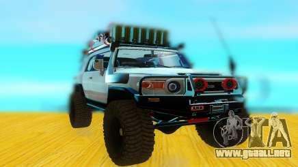 Toyota FjCruiser 2012 para GTA San Andreas
