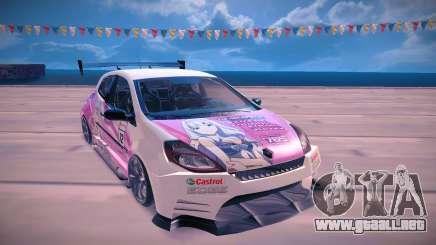 Renault Clio Cup para GTA San Andreas