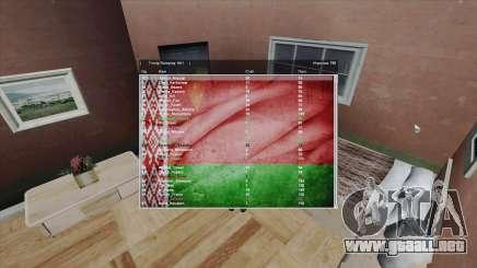 Sampgui Belarus para GTA San Andreas