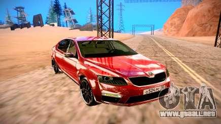 Skoda Octavia RS para GTA San Andreas