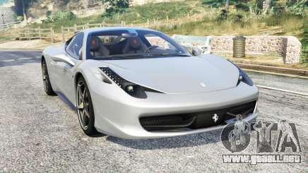 Ferrari 458 Italia 2009 v2.3 [replace] para GTA 5