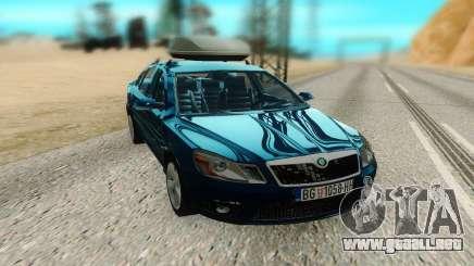 Skoda Octavia Mk2 para GTA San Andreas