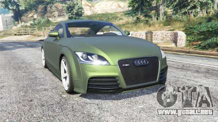 Audi TT RS (8J) 2013 v1.1 [replace] para GTA 5