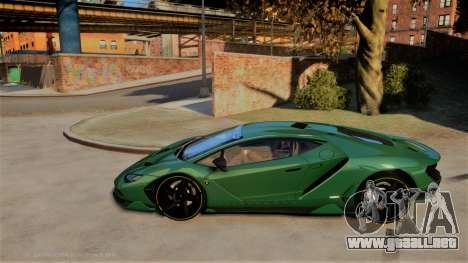 Lamborghini Centenario LP770-4 v2 para GTA 4