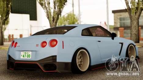 Nissan GTR Nismo para GTA San Andreas