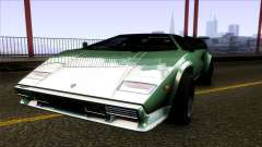 Lamborghini Countach Extra Wide Wheels para GTA San Andreas