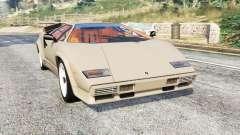Lamborghini Countach LP5000 1988 v1.3 [replace] para GTA 5