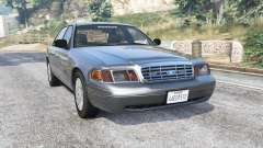 Ford Crown Victoria 2001 police [replace] para GTA 5