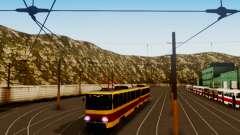 Tatra T6B5SU Barnaul para GTA San Andreas