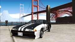 Elegía Trabajo De Pintura De Darker Than Black para GTA San Andreas