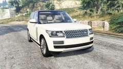 Land Rover Range Rover Vogue 2013 v1.3 [replace] para GTA 5