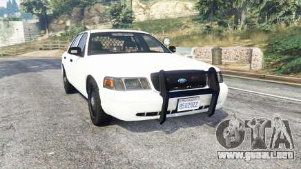Ford Crown Victoria Unmarked CVPI v2.0 [replace] para GTA 5