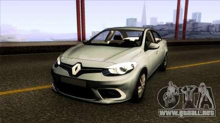 Renault Fluence 2014 para GTA San Andreas