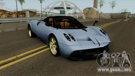 Pagani Huayra 2013 Extra Spoiler para GTA San Andreas