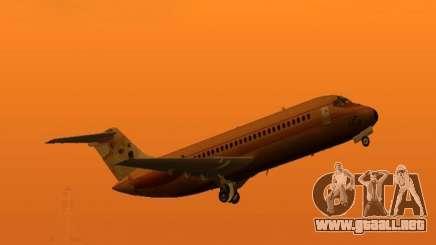 DC-9-10 (Dux) para GTA San Andreas