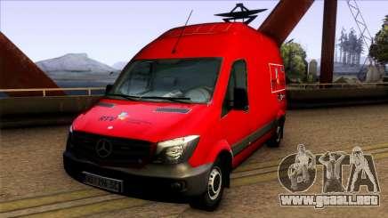 Mercedes Benz Sprinter Radio-televizija Vojvodin para GTA San Andreas