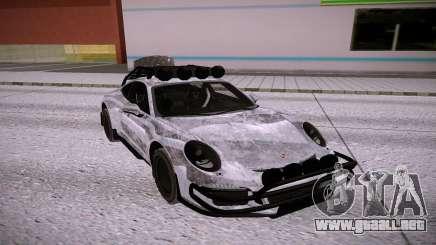 Porsche 911 GT3 silver para GTA San Andreas