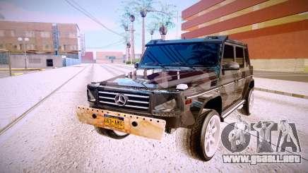 Mercedes-Benz G63 para GTA San Andreas