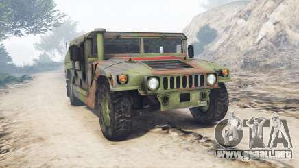 HMMWV M-1116 Unarmed Woodland [replace] para GTA 5