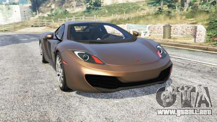 McLaren MP4-12C 2011 v1.1 [replace] para GTA 5