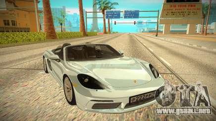Porsche Boxter para GTA San Andreas