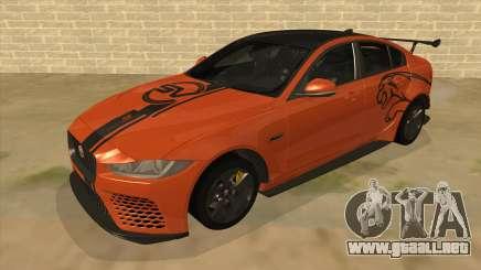 2017 Jaguar XE SV Project 8 para GTA San Andreas