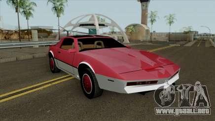 Knight Rider KITT para GTA San Andreas